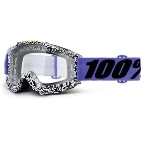 100% Accuri Anti Fog Clear goggles wit/zwart